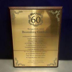 60-jubiliejaus-dovana su graviruotu sveikinimu