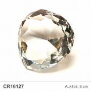 stiklinis apdovanojimas deimantas