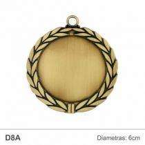 medalis su lapeliais metalinis