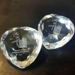 stikliniai deimantai apdovanojimai-baleto-konkursas