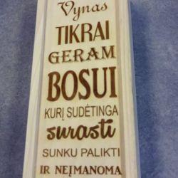 dovana-bosui-dezute buteliui