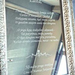 graviruotas-veidrodis-jubiliejui sveikinimas