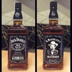 jack daniels butelis dovana graviruota