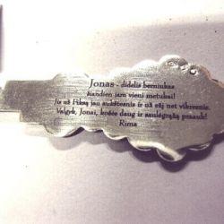 sidabrinis krikstynu-saukstelis-palinkejimas