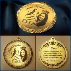 dovana isleistuviu medalis-mokslu-karaliene