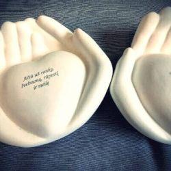 padeka tevams graviruota keramikines rankos