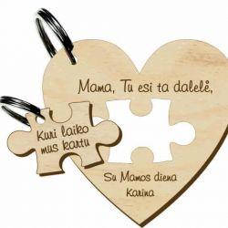 pakabukas puzzle dovana mamai