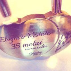 spyna-35-metai vedybu metiniu proga