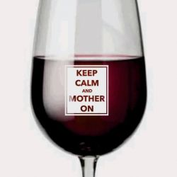taurė vynui mamos dienos proga