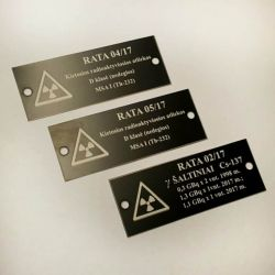 technines-lenteles-aliuminio radioaktyvu