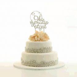 torto papuosimas dekoracija iki menulio