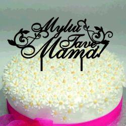 torto papuosimas smeigtukas mamos dienos proga