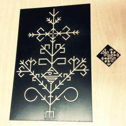 pjautas lazeriu trafaretas ornamentas