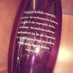 dovana padeka kriksto mamai vaza
