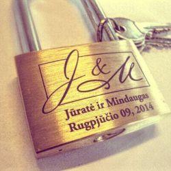 vestuvine-spyna-J_M graviravimui su raktais