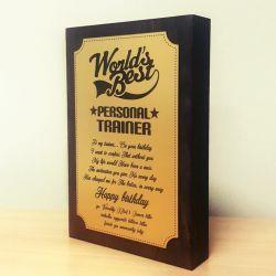 worlds-best-personal-trainer gimtadienio dovana treneriui