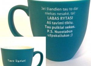 puodelis labas rytas