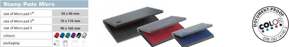rašalinės pagalvėlės antspaudų vonelės