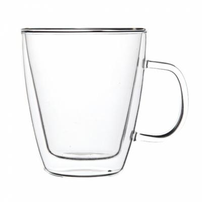 stiklinis termo puodukas kavai