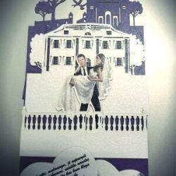 3D-vestuvinis-kvietimas is popieriaus
