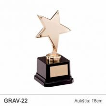 Statulele zvaigzde auksine su lentele