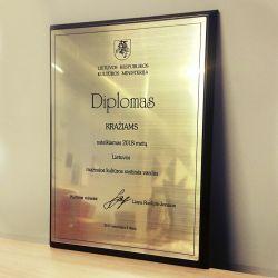 LRKM-diplomas prabangus