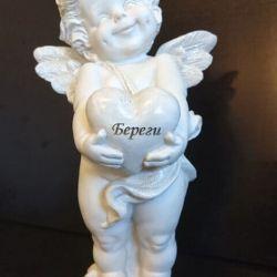angeliukas keramikinis saugok krikstynu
