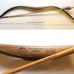 adrenalinas apdovanojimas-lankas medinis su strele