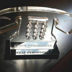 apdovanojimas gamintas is akrilo telefonas su graviravimu