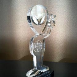 apdovanojimas individualus is akrilo stiklo