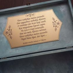 dezute-dovana-nuo-kriksto-teveliu ir sveikinimo tekstas