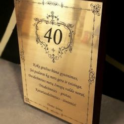 originali dovana-40-jubiliejaus-proga