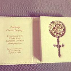graviruotas rozancius dovana krikstynu proga