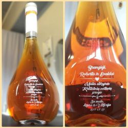 dovana-kristoliniu-vestuviu-proga graviruotas butelis