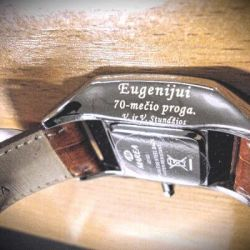 dovana-laikrodis-70metu