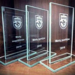 fk-siekis-apdovanojimai stikliniai graviruoti