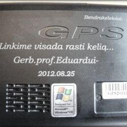gps-navigatorius dovana nuo kolegu