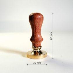 karsto-vasko-antspaudas-su-medine-rankenele-25mm
