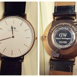 laikrodis rankinis graviruotas DW