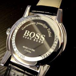rankinis laikrodis boss graviruotas teciui