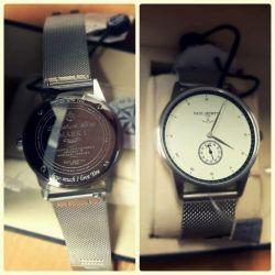 rankinis laikrodis su graviravimu valentino dienos dovana