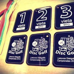 plastikiniai juodi medaliai-disc-golf