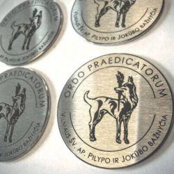 metaliniai medaliai-ordo praedicatorum