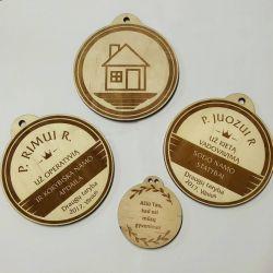 dideli mediniai medaliai-padekos-uz
