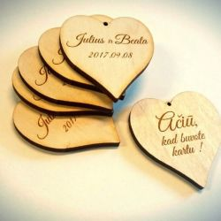 medines-sirdeles-vestuviu-sveciams aciu kad buvote kartu