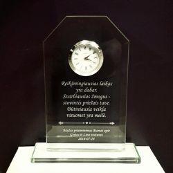 padeka-mamai-vestuvine-laikrodis su prisiminimo tekstu