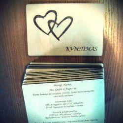 pakvietimai-vestuvems-fanera mediniai graviruoti