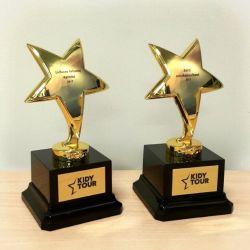 statuleles prizai-apdovanojimai-zvaigzdes auksines
