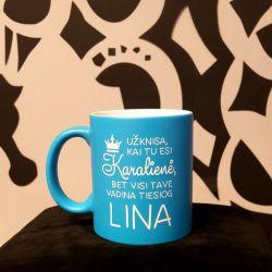 puodukas-Lina-karaliene uzknisa kai tu esi karaliene bet visi tave vadina