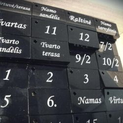 raktu-pakabukai-numeracija patvaraus plastiko